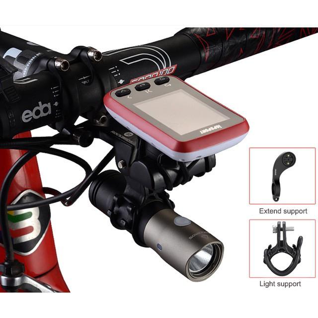 Bike Computer Mount Camera Light Holder For Garmin edge IGPSPORT GOPRO Hero