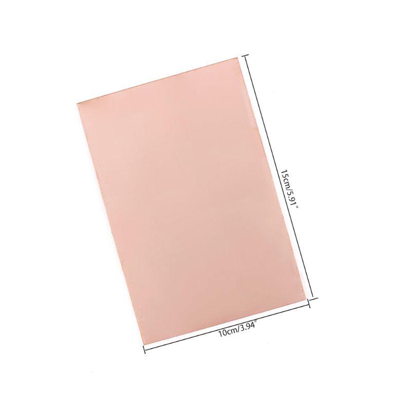 10PCS 10x15cm Single Side PCB Copper Clad Laminate Board FR4 10 x 15 CM
