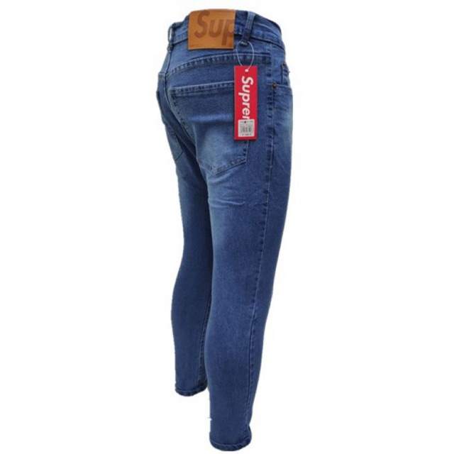 COD Ootd Supreme Skinny Jeans For Men | Shopee Philippines
