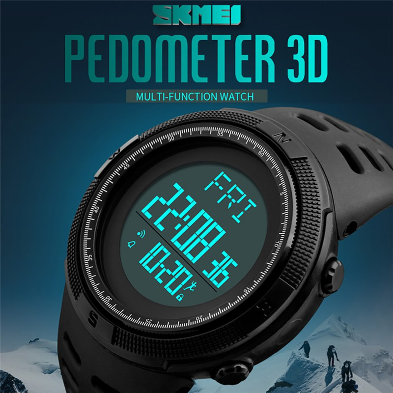 Digital Watches Watches Synoke Smart Watch For Man Waterproof 5bar Luxury Stainless Steel Mesh Rubber Pedometers Message Reminder Sport Smart Watch To Have A Long Historical Standing