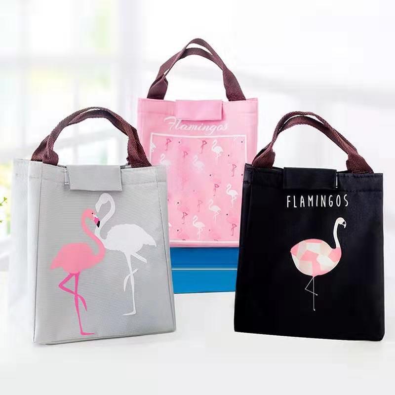 Ella Chua Flamingo Lunch Cooler Bag