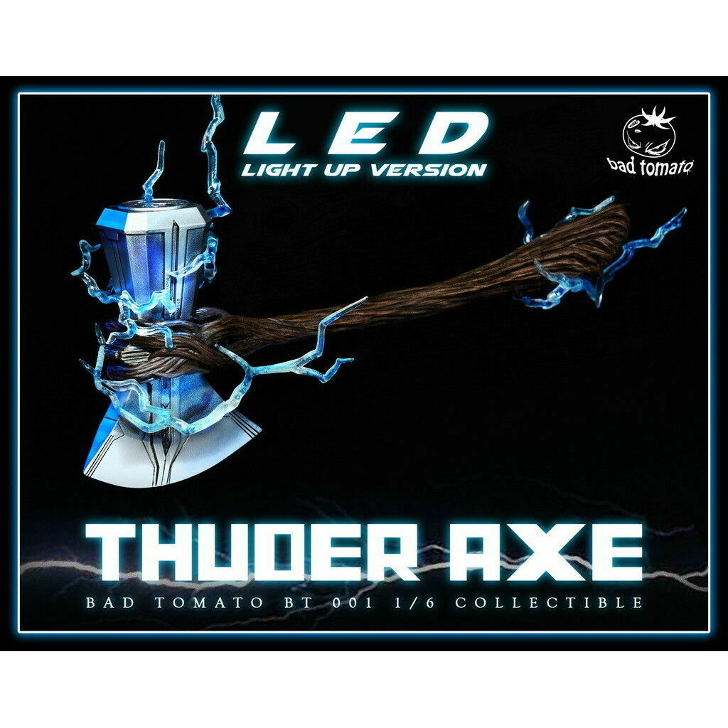 21cm  Model toys  in stock Bad Tomato BT001A Thunder Axe W//LED Light Up Ver