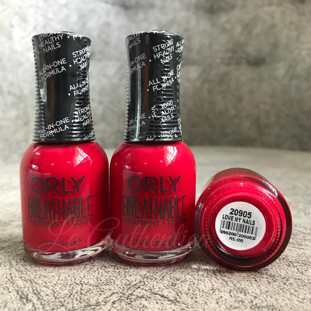 Love My Nails Orly Breathable Nail Polish | Shopee Philippines