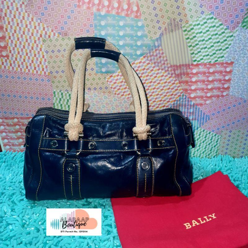 gancho extraño Corte de pelo  preloved Bally shoulder bag | Shopee Philippines