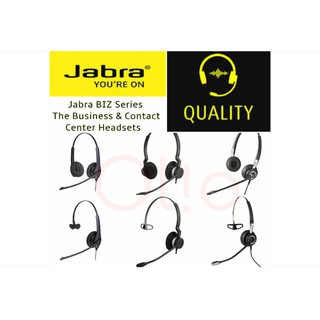 Brand New Jabra Headsets Biz Series 1100 1500 2300 2400 Shopee Philippines