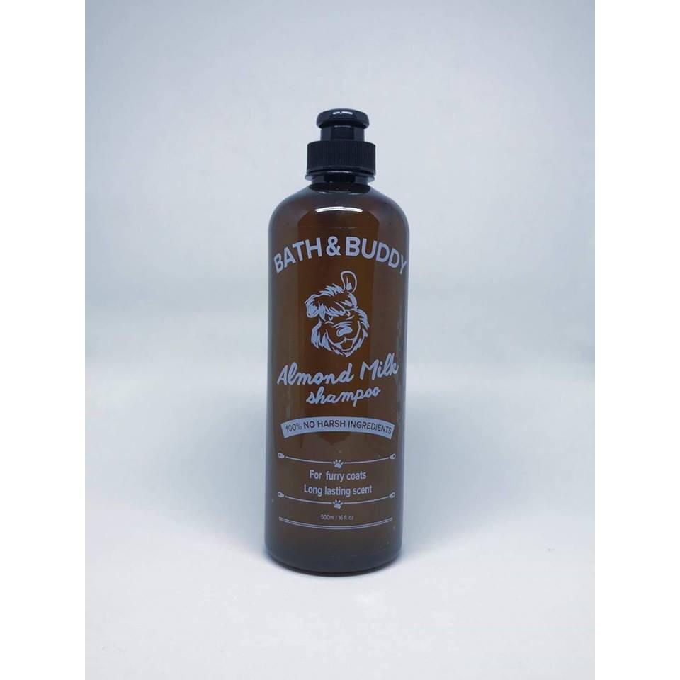 Bath and Buddy Almond Dog shampoo