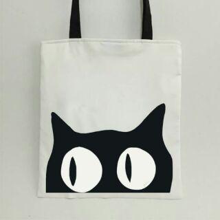 410e81ef51 Tote bag Cat design | Shopee Philippines