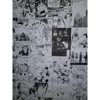 Hand Painted Poster Wallpaper Japanese Anime And Manga Theme Ktv Milk Tea Shop Murals Pirates Wang Longzhu Cartoon Shopee Philippines