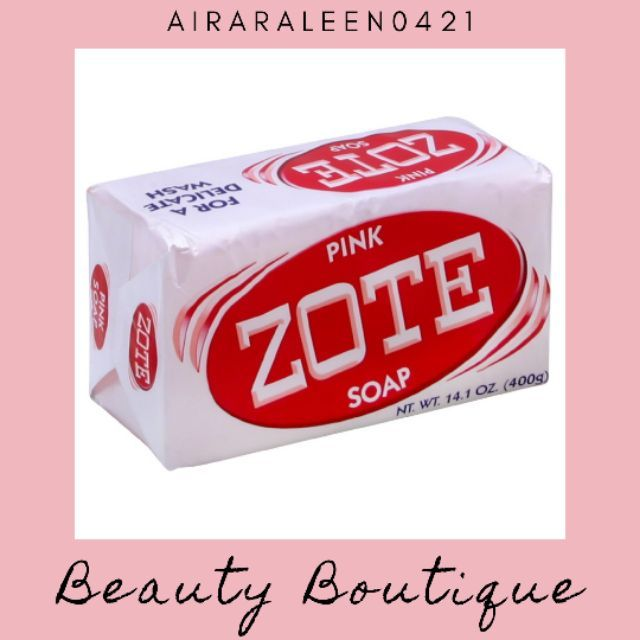 Zote Soap ( Pink ) 200g | Shopee