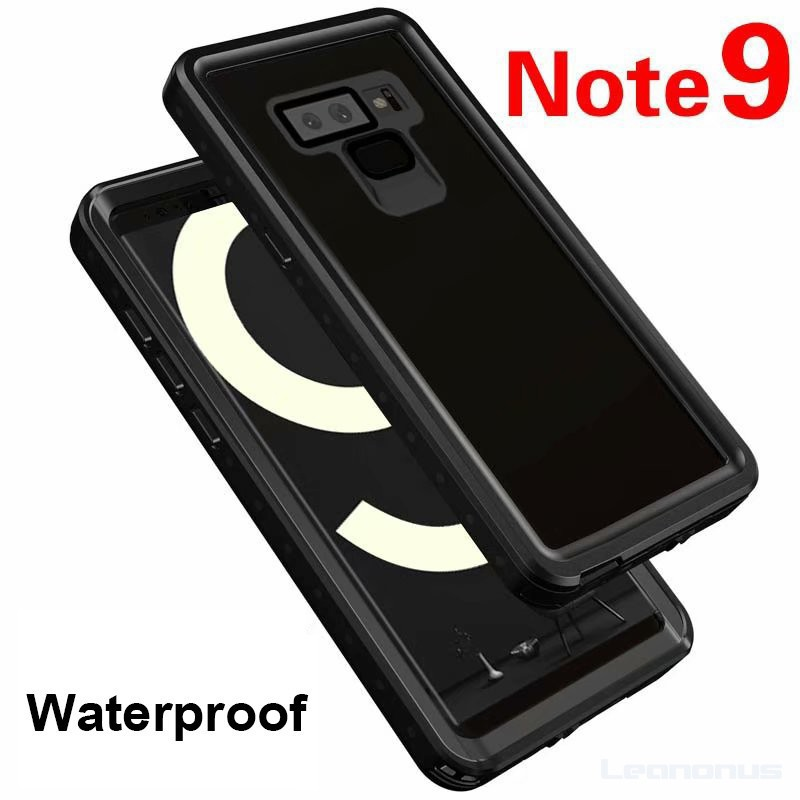 uk availability 364e4 1f561 Samsung Galaxy Note 9 Waterproof Case Water Proof Case Cover