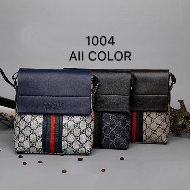 74ce21a465e3 Gucci Sling Bag Best For Men's | Shopee Philippines