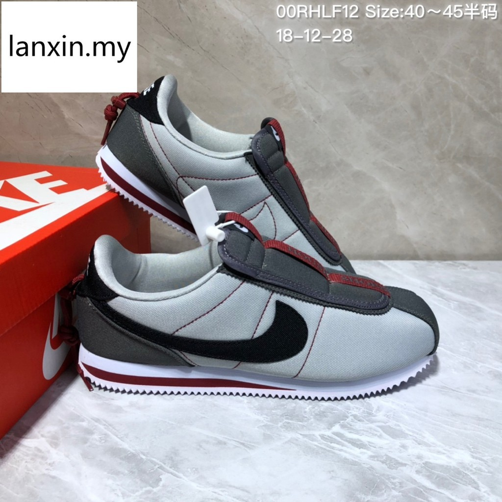 uk availability b2d00 a9442 Nike Kendrick Lamar X Cortez Basic Slip men running shoes