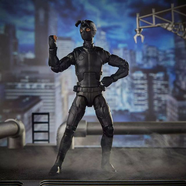 Marvel Legends Spider Man Far From Home Stealth Suit Night Monkey