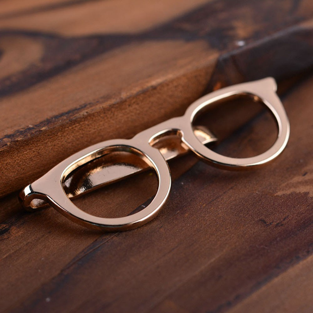 7546eaa58467 Shape Design Pin Clasp Tie Clip Suit Clip Necktie Clasp | Shopee Philippines