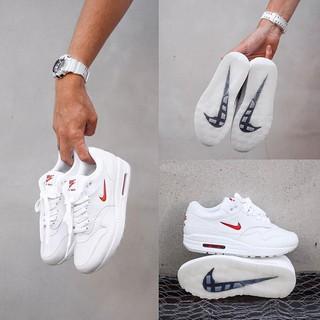 Sepatu Sneakers Original Nike Air Max 1 Jewel White