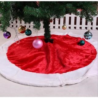 Elegant Christmas Tree Skirts.120cm Velvet Christmas Tree Skirt Holiday Party Supplies Decoration Home Decor