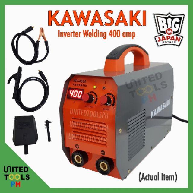 KAWASAKI Inverter Welding Machine 400amp