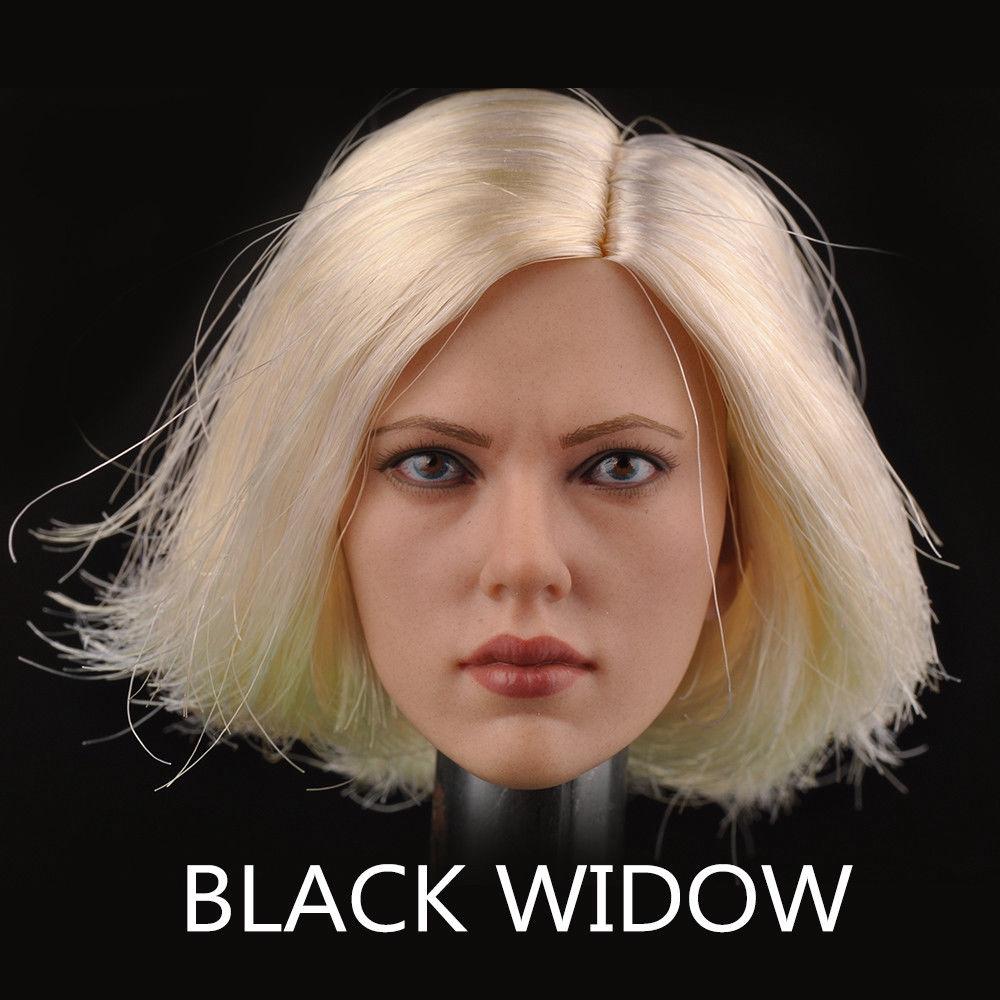 1//6 Female Clothing Black Widow Scarlett Johansson Suit SO-TOYS SO-T03 No Figure