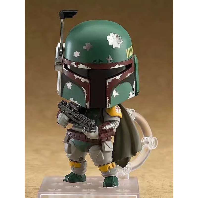 Star Wars Boba Fett 706# Nendoroid Action Figure toy change face doll