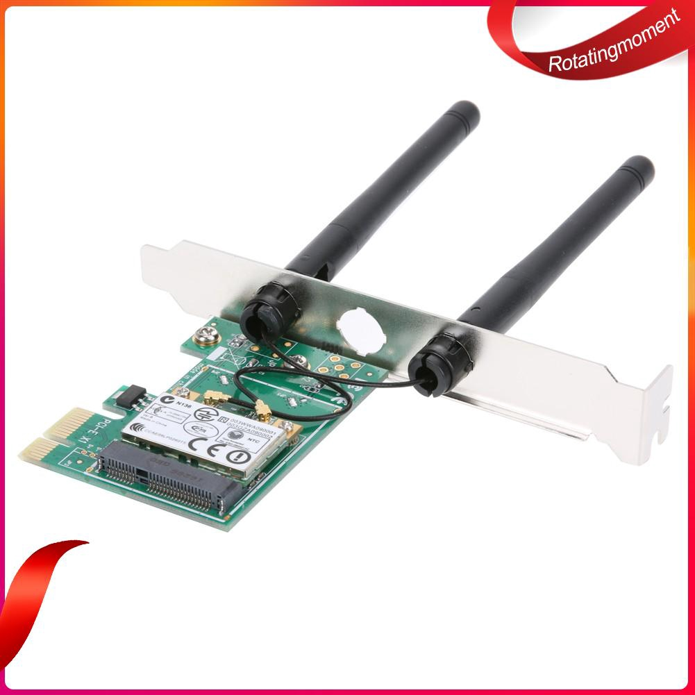 300M AdapterCard USB2.0 WiFi Antenna Wireless Network Adapter Card Receiver New