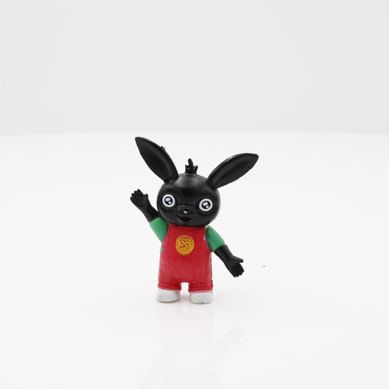5pcs//set Bing Bunny Action Figure Toy Sula Flop Pando PVC Doll for Kids Gift