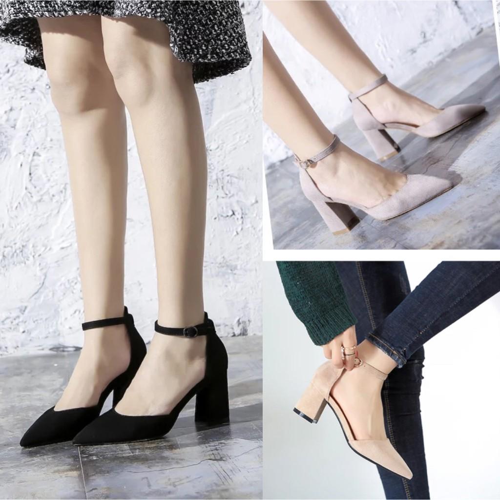 0bc8e7b301 Women Chunky Zipper Platform Block High Heels Ankle Boots | Shopee  Philippines