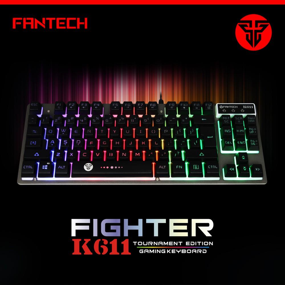 186b6b3ff05 Fantech MK871 RGB Phantheon Mechanical Keyboard | Shopee Philippines