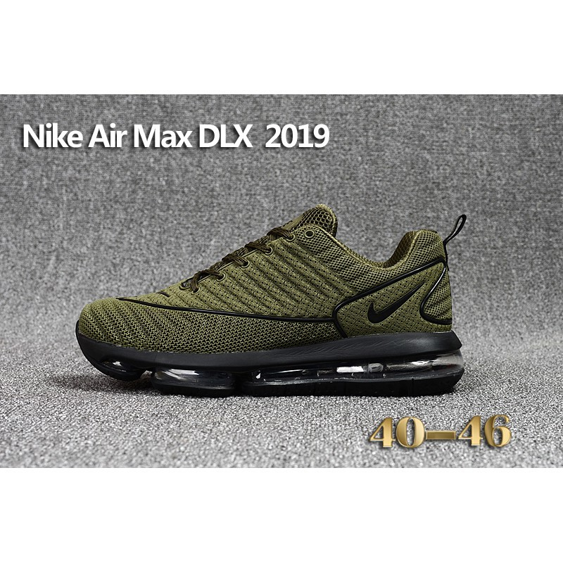 lowest price 4ec06 79447 Nike Air Max DLX 2019 KPU Men Shoes Sneakers Green