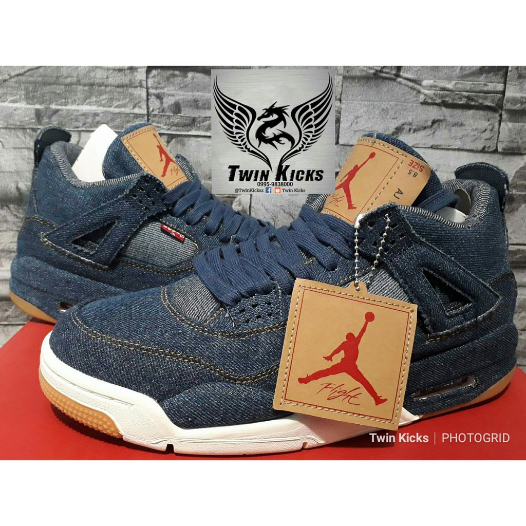 f265b23d6c48 Nike Air Jordan 4 Retro  Levis