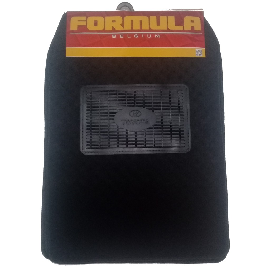 5 Pc Universal Formula Carpet Mat Logo Matting Shopee