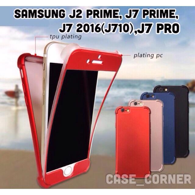 360 Degree Case w/ FREE TG Samsung Galaxy J7 2015 & J7 2016 | Shopee Philippines