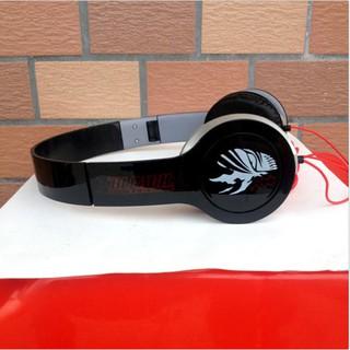 Anime Tokyo ghoul Ken Kaneki earphone deep bass foldable headband headphones