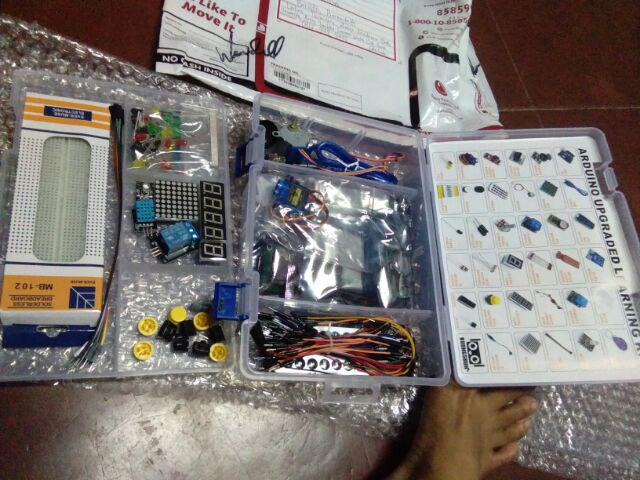 Arduino Advance Upgraded Starter Kit w/ PDF Manual   Shopee