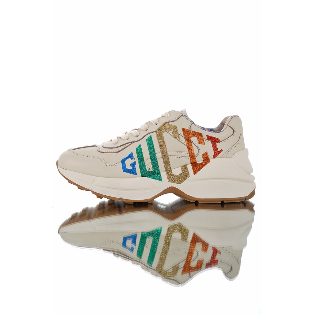 331677010 ProductImage. ProductImage. Gucci Rhyton Vintage Trainer Sneaker ...