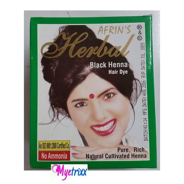 ce233413a Afrin's Herbal Natural Dark Brown Henna | Shopee Philippines