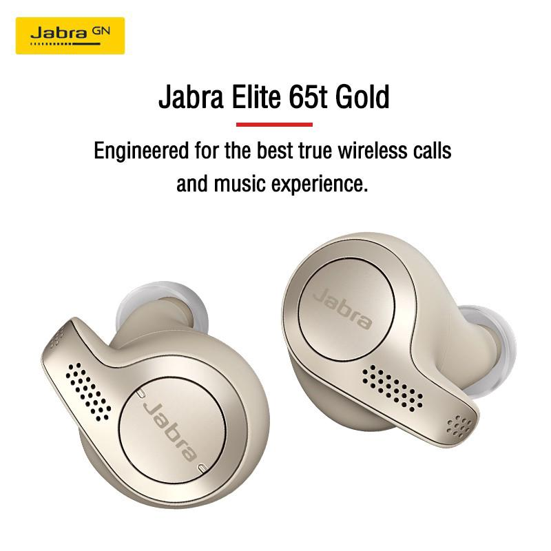 Jabra Elite 65t Enabled True Wireless Earbuds Charging Case