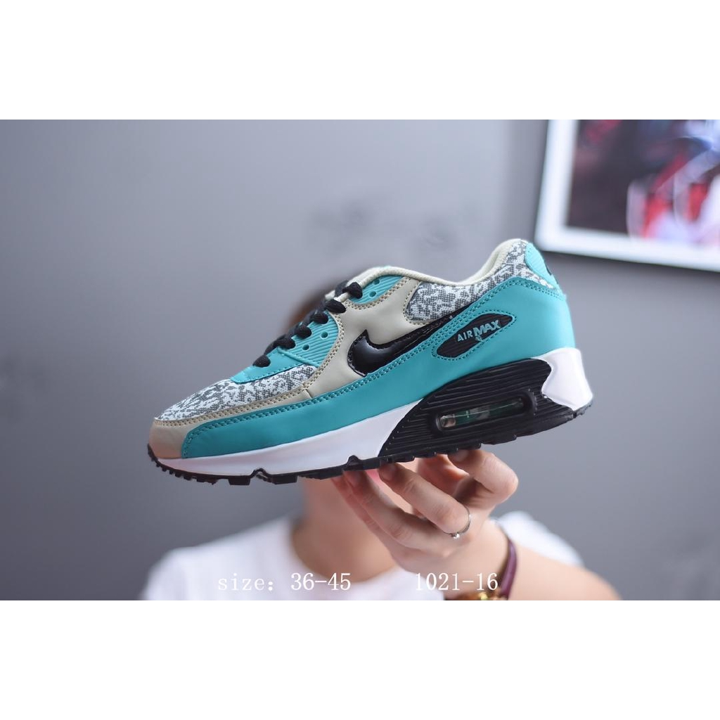 on sale 9755d e5755 NIKE AIR MAX 90 RUNNING SHOES FOR Women Men Off BLUE