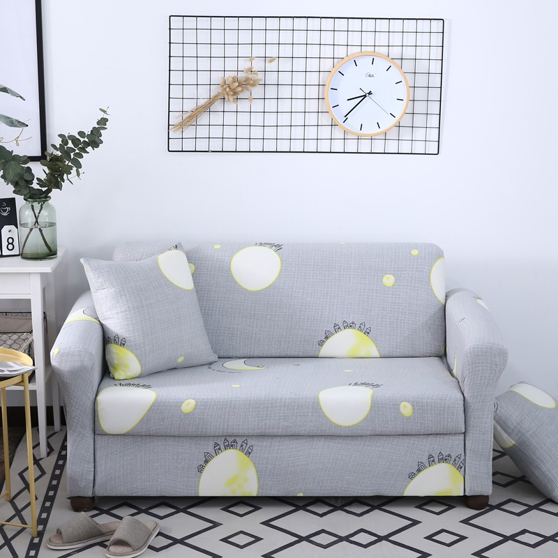 Round Moon Elastic Stretch Sofa Cover
