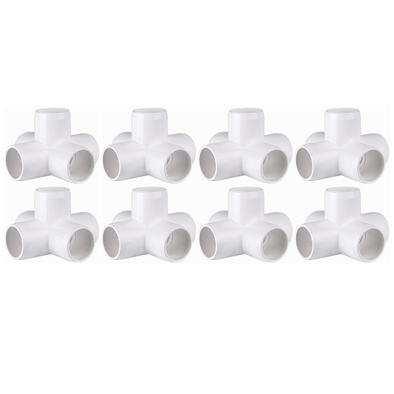 Premium Quality Pvc Pipe Fittings For Building 1 Inch 5 Way Elbow Pack Of 8 Cod Nnp Shopee Philippines
