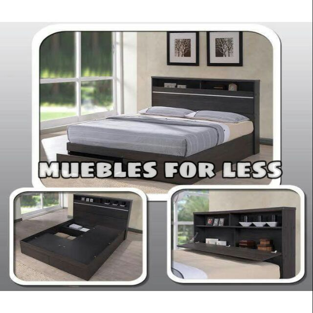 Fully Functional Storage Bed Ee, What Is The Size Of Double Bed In Philippines