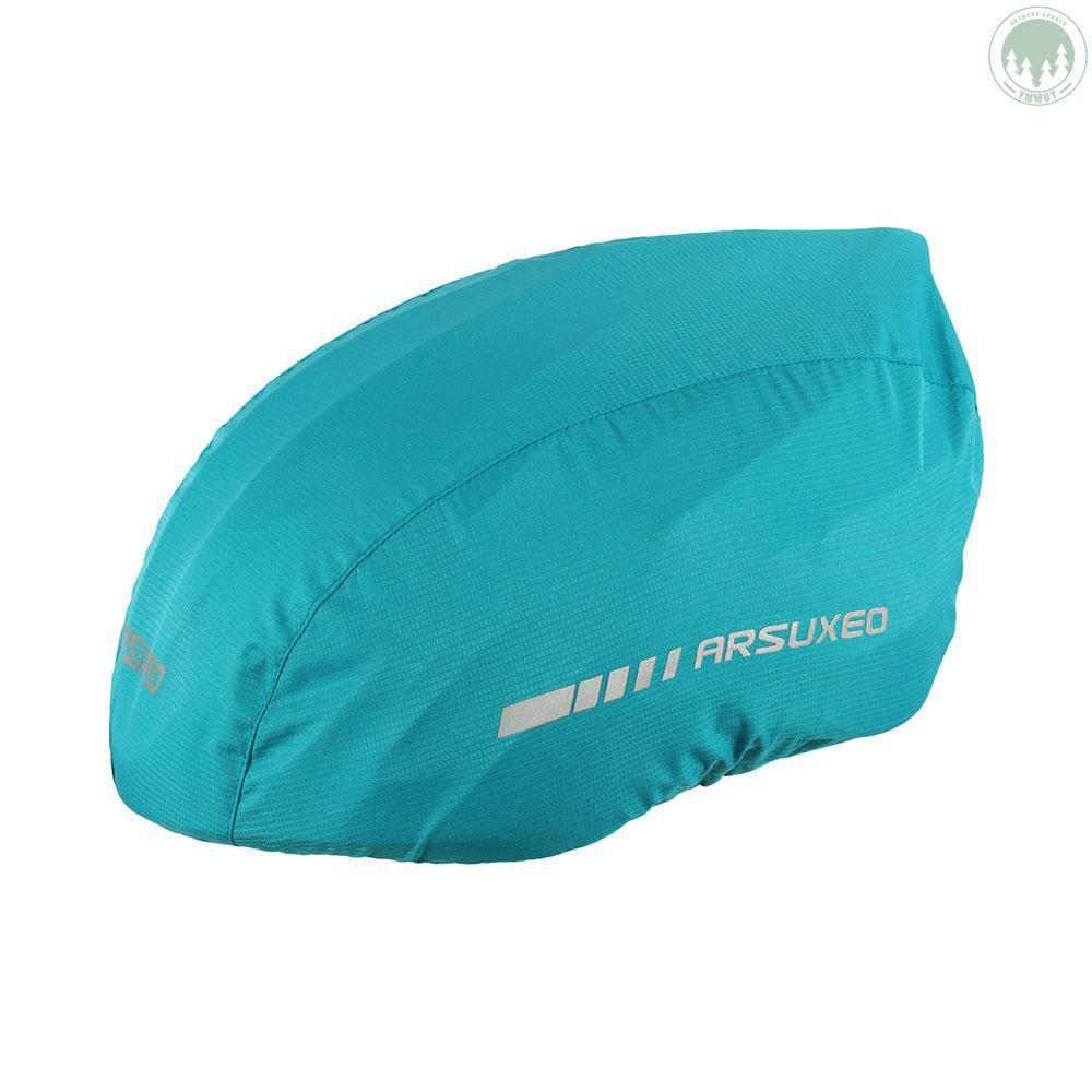 Waterproof Bike Helmet Cover Reflective Strip Cycling Bicycle Helmet Rain Cover