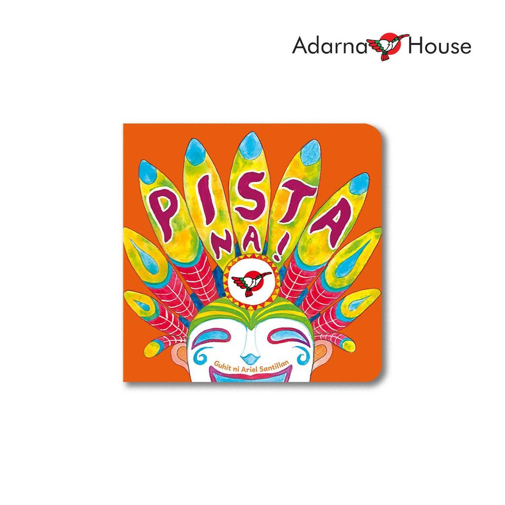 Festive cover of Pista Na! Board Book by Adarna House