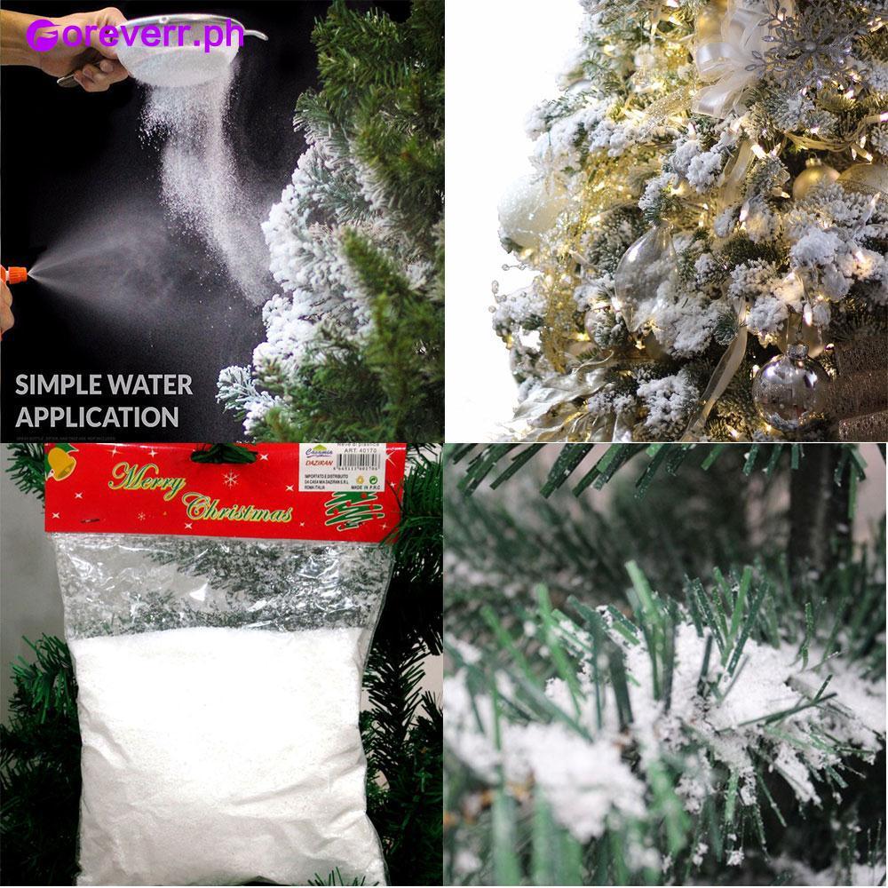 Simple Christmas Tree Decorations Philippines.Snow Powder Christmas Tree Decorations Magic Artificial Fake