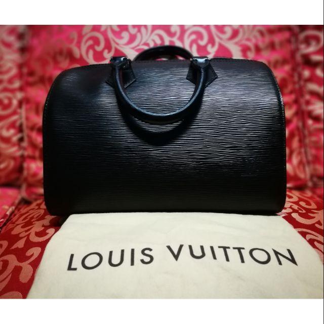19a7a6f64b32 Louis Vuitton Speedy 25 Epi Leather Black