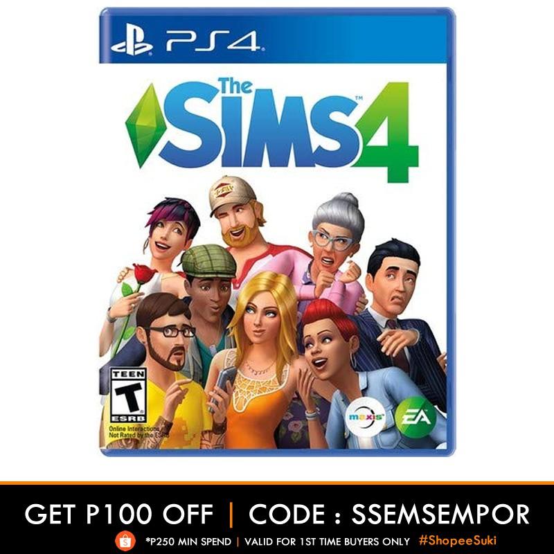 PS4 Games Sims 4 Playstation 4