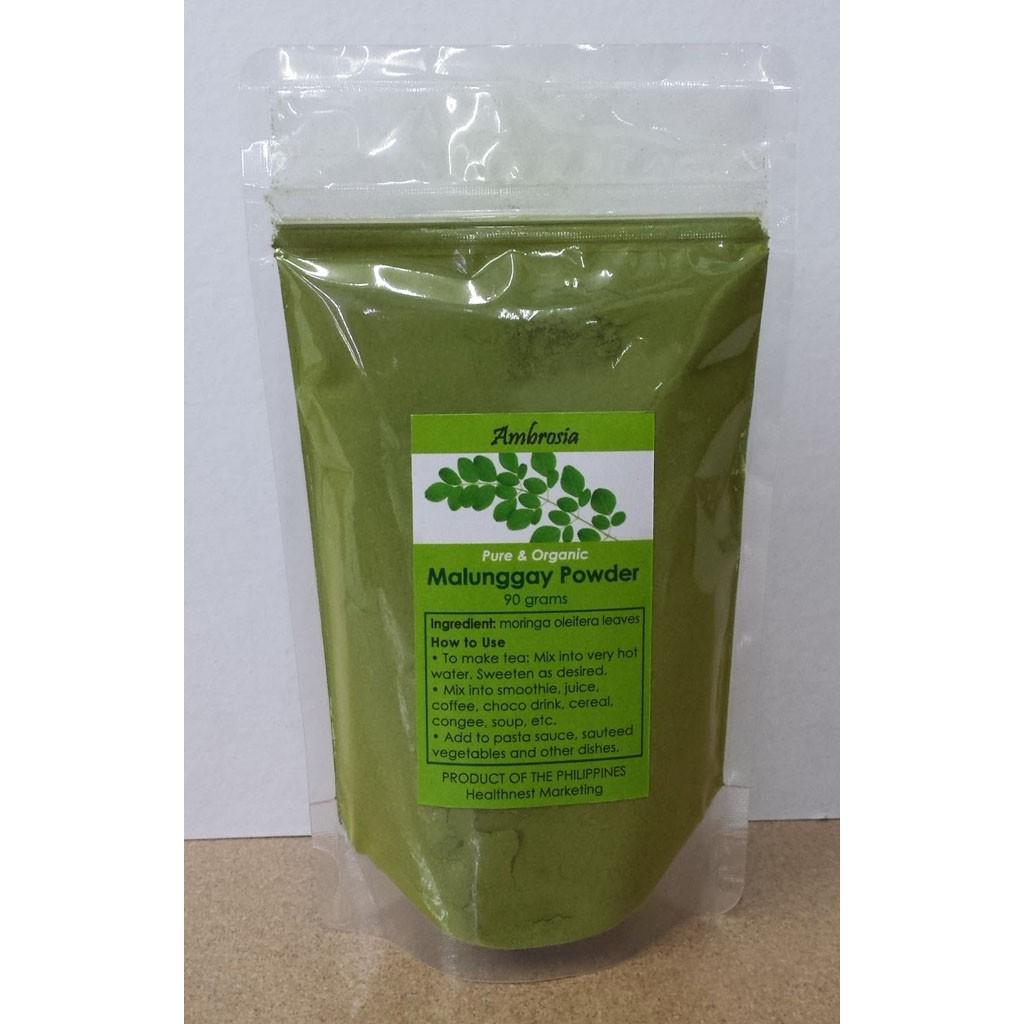 Ambrosia Organic Malunggay Powder 90g