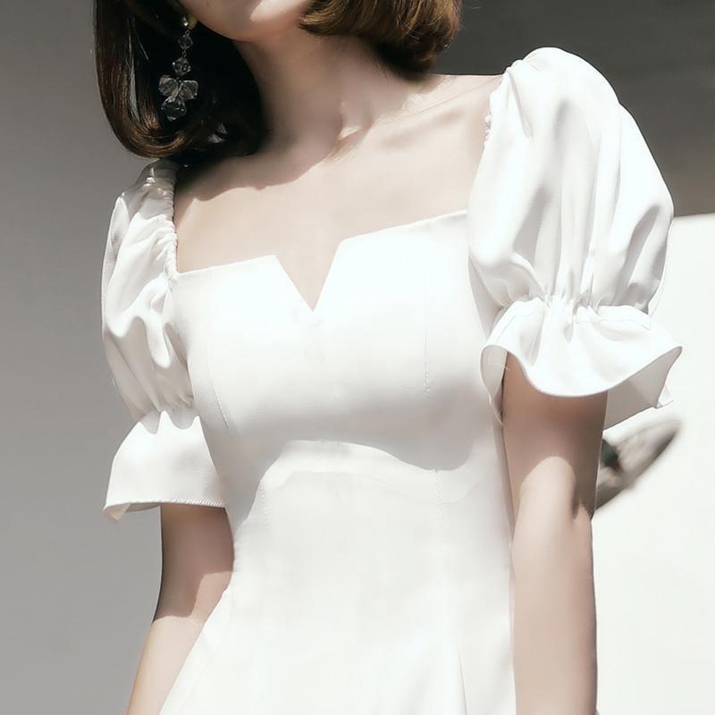 casual simple evening dress