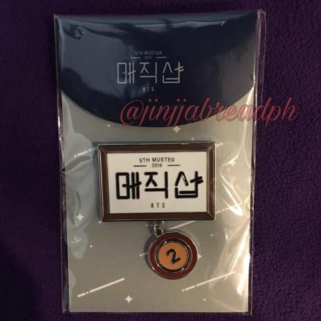 BTS 5th Muster Seoul Badge