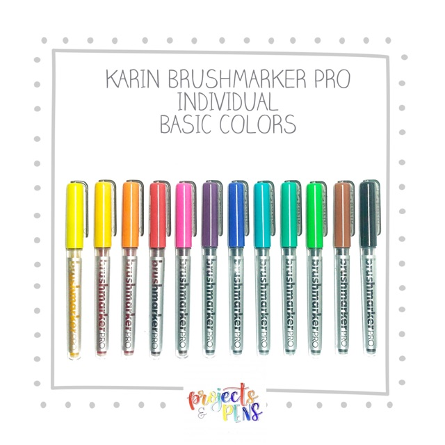 karin brushmarker  Karin Brushmarker PRO - INDIVIDUAL - SKIN COLORS   ilippines