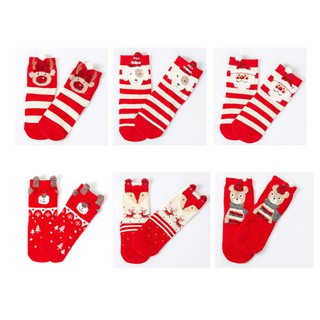 Boys Christmas Socks.Alimama1 3pairs Christmas Baby Infant Socks Newborn Cotton Boys Girls Anti Slip Socks Set